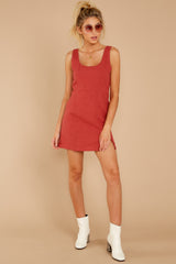 2 Unapologetically Me Mesa Red Dress at reddressboutique.com