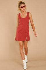 3 Unapologetically Me Mesa Red Dress at reddressboutique.com
