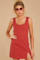 5 Unapologetically Me Mesa Red Dress at reddressboutique.com