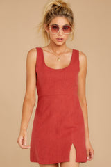 7 Unapologetically Me Mesa Red Dress at reddressboutique.com
