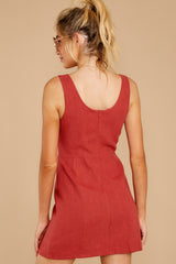 8 Unapologetically Me Mesa Red Dress at reddressboutique.com