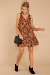 1 Falling Fast Dark Cheetah Print Dress at reddressboutique.com