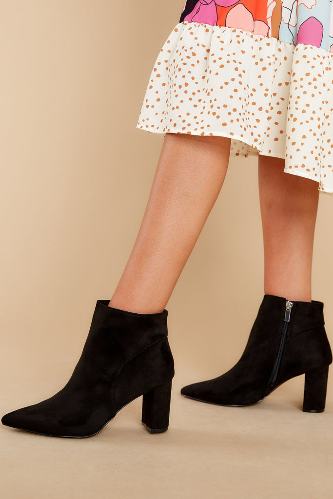 1 Worth It Every Time Black Lace Up Boots (BACKORDER JANUARY) at reddress.com