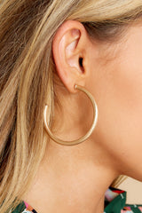 1 Everybody's Favorite Small Champagne Hoops at reddress.com