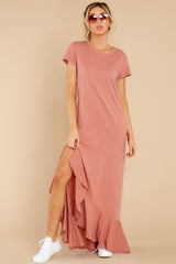 4 Need It All Rose Pink Maxi Dress at reddress.com