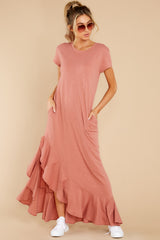 5 Need It All Rose Pink Maxi Dress at reddress.com