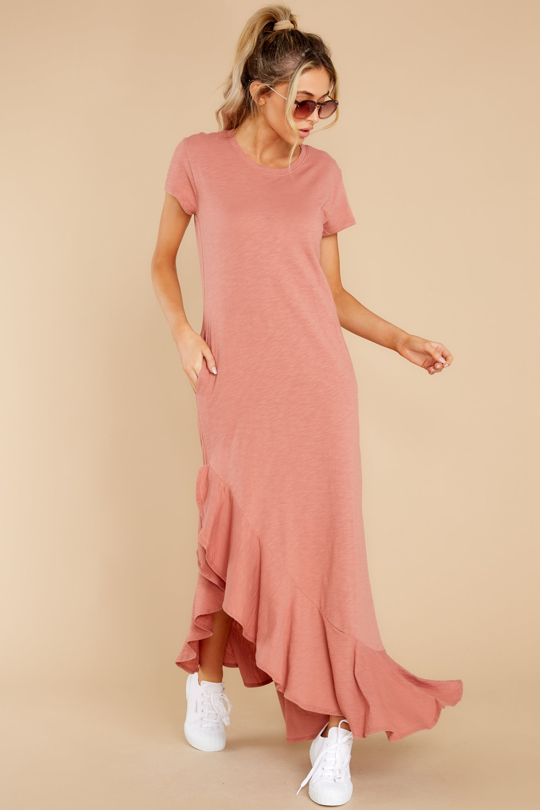 6 Need It All Rose Pink Maxi Dress at reddress.com