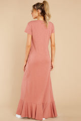 8 Need It All Rose Pink Maxi Dress at reddress.com