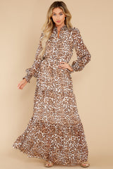 1 Steady As She Goes Leopard Print Maxi Dress at reddress.com