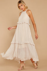 7 Inspire Chic Sand Maxi Dress at reddressboutique.com