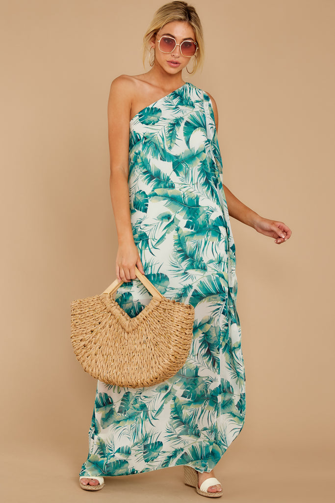 1 In Any Event Green Maxi Dress at reddressboutique.com