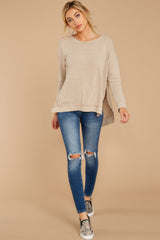 2 The Simply Taupe Triblend Vacay Pullover at reddress.com