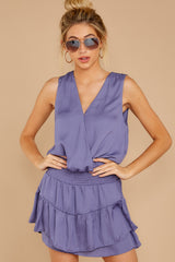 5 Off To Somewhere Dusty Violet Dress at reddressboutique.com