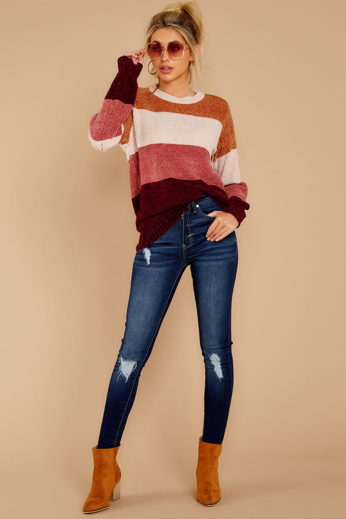 Story To Tell Beige Eyelash Knit Sweater