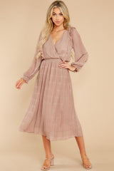 2 Sophisticated Sparkle Taupe Maxi Dress @ reddress.com