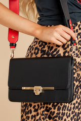 1 Fair Play Black Crossbody Bag at reddress.com