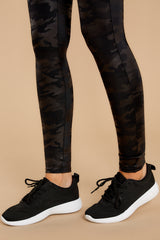 5 Buzz Off Black Sneakers at reddressboutique.com