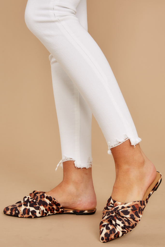 Cute guess leopard sandals   . Animal Print :: the Beast in
