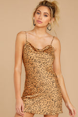 5 Unrivaled Style Tan Cheetah Print Dress at reddressboutique.com