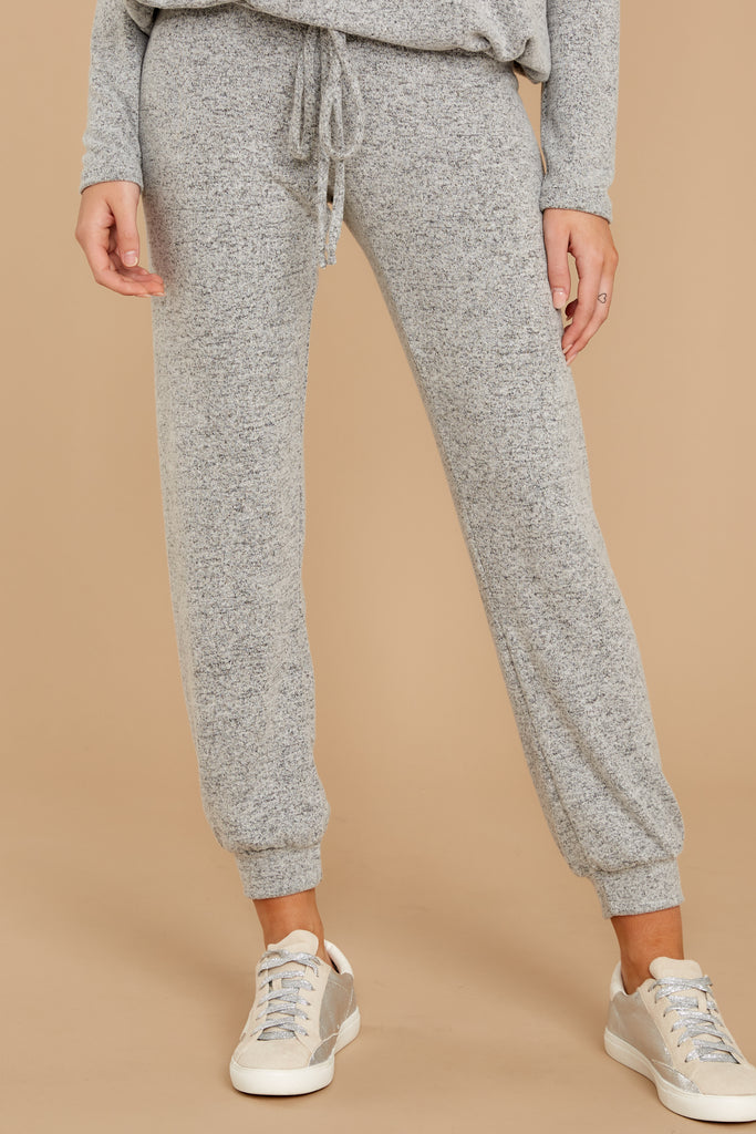 1 The Storm Grey Faded Wash Joggers at reddressboutique.com