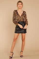 1 Wild About You Leopard Print Bodysuit at reddressboutique.com