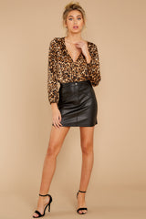 4 Wild About You Leopard Print Bodysuit at reddressboutique.com