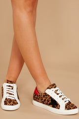 1 Getting Better Leopard Print Sneakers at reddress.com
