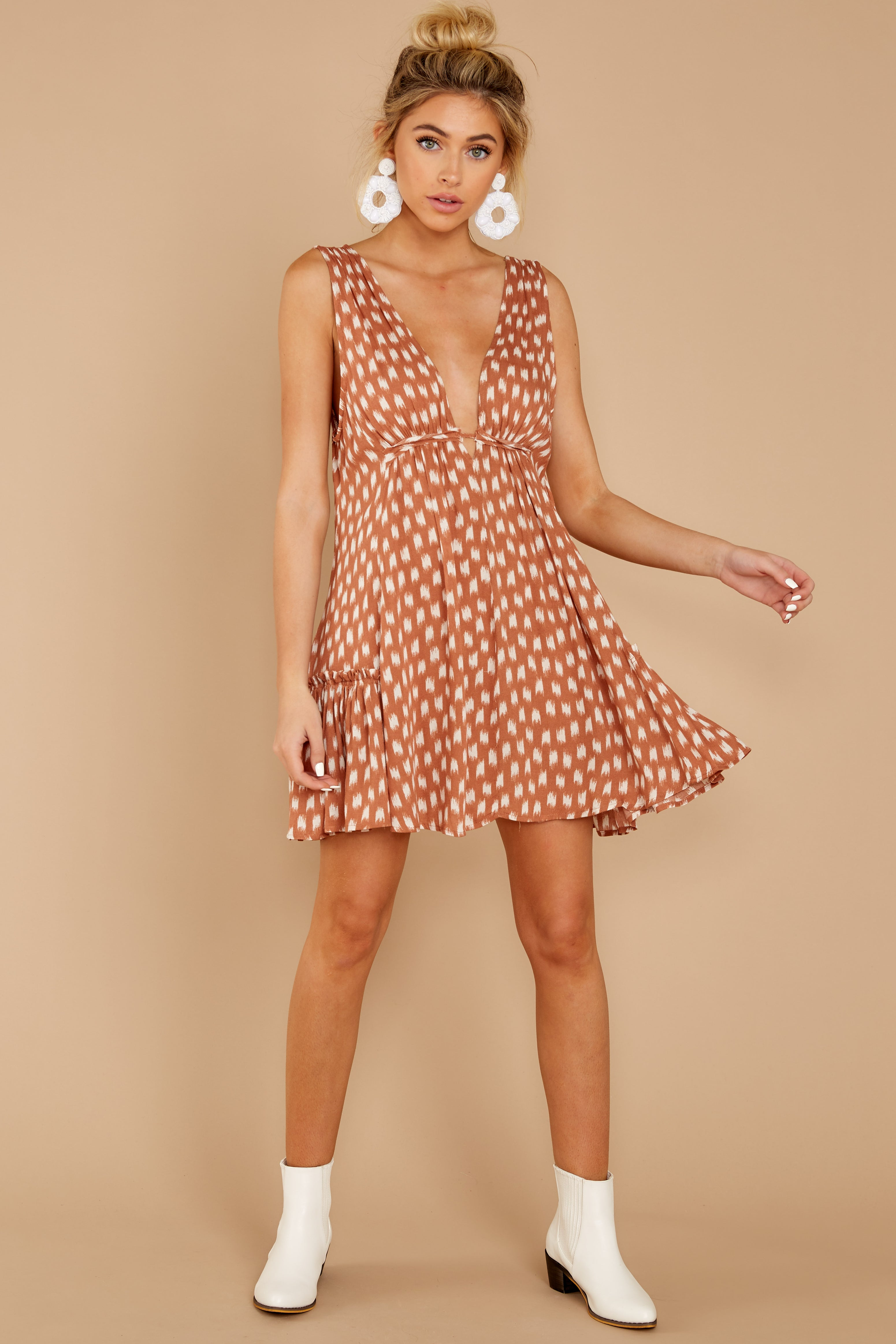 2 Wishful Thinking Ginger Print Dress at reddressboutique.com