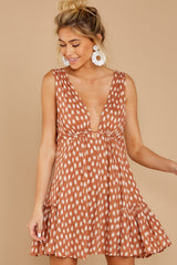 5 Wishful Thinking Ginger Print Dress at reddressboutique.com