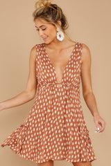 6 Wishful Thinking Ginger Print Dress at reddressboutique.com