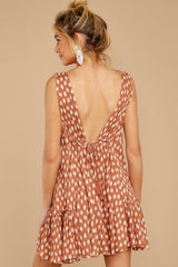 8 Wishful Thinking Ginger Print Dress at reddressboutique.com