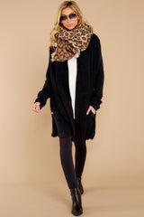1 The Cozychic Lite® Black Montecito Cardi at reddressboutique.com