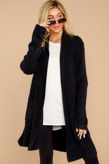 7 The Cozychic Lite® Black Montecito Cardi at reddressboutique.com