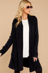 8 The Cozychic Lite® Black Montecito Cardi at reddressboutique.com