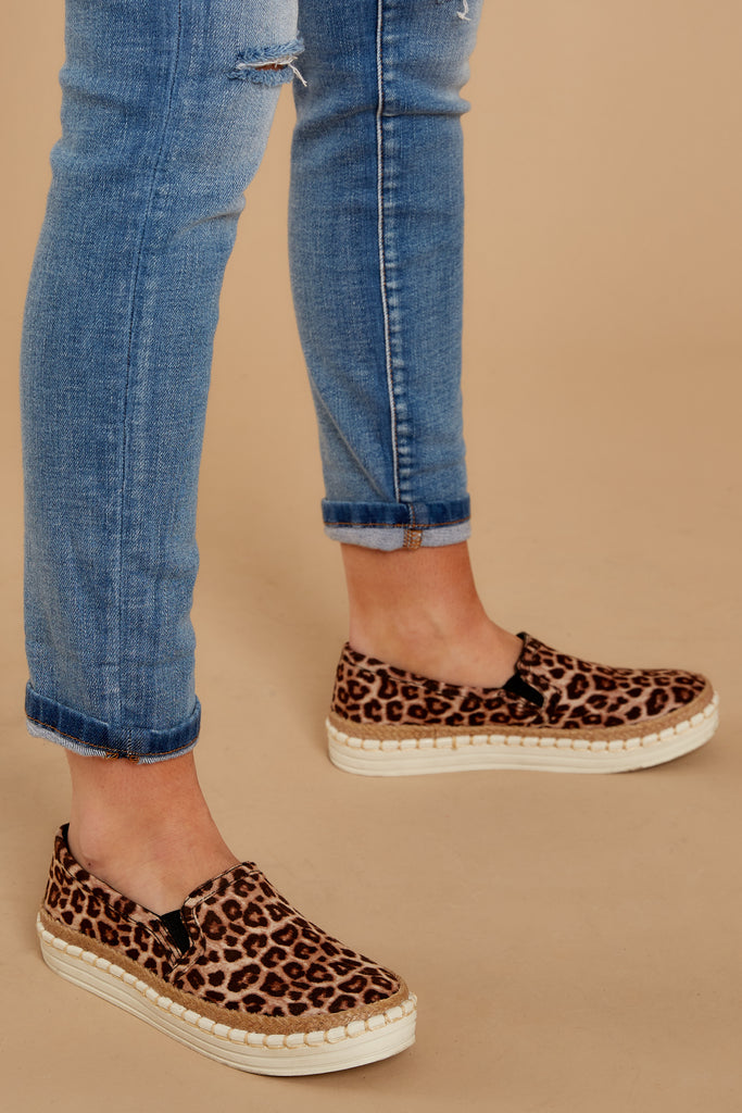 Wander Through Aspens Leopard Print Booties