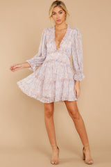 2 Make It A Date Night Light Pink Floral Print Dress at reddress.com