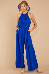 4 Impressive Poise Royal Blue Jumpsuit at reddressboutique.com