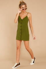 3 Never Wait Rosin Green Dress at reddressboutique.com