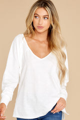 6 Procaffeinating Kind White Top at reddress.com