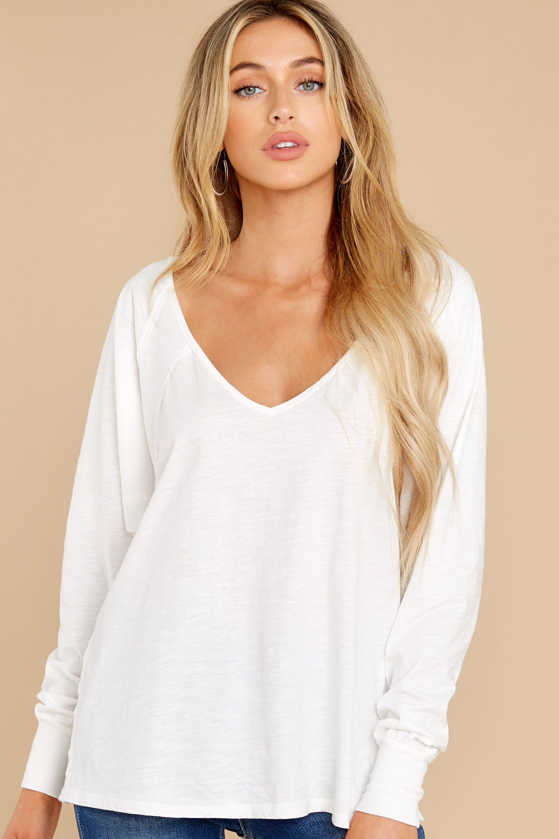 7 Procaffeinating Kind White Top at reddress.com