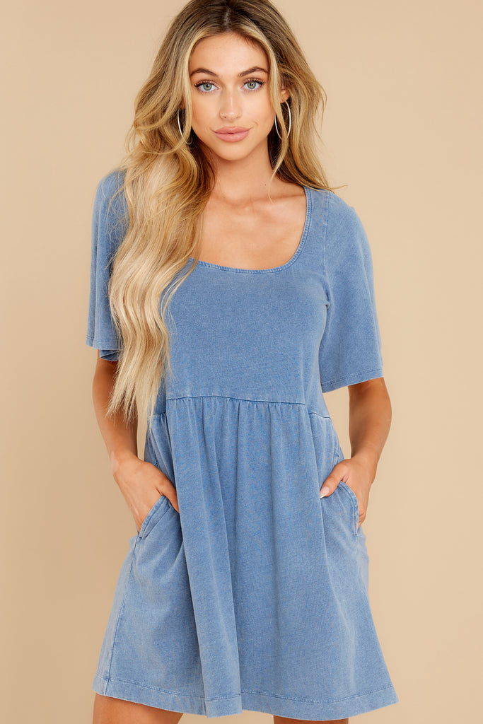 6 Whenever This Happens Powder Blue Dress at reddress.com