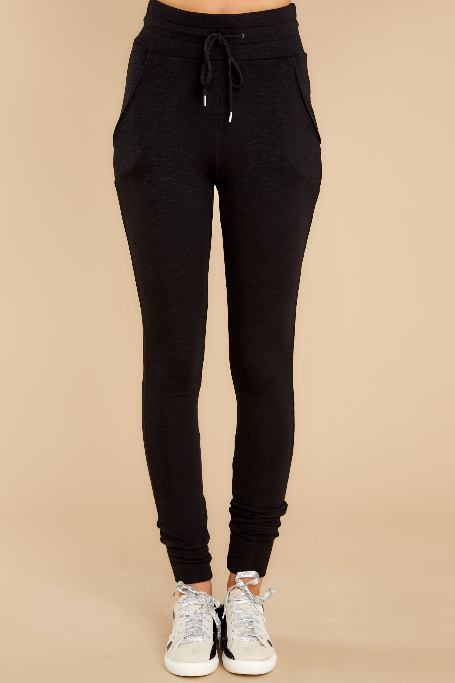3 Cloud Chaser Black Joggers at reddress.com