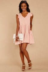 Touch Of Sweet Light Pink Dress
