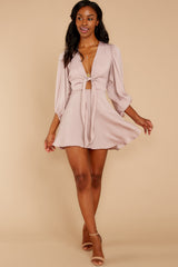 1 Brink Of Falling Blush Dress at reddressboutique.com
