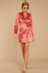 2 Business Babe Coral Blazer Dress at reddressboutique.com