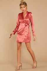 3 Business Babe Coral Blazer Dress at reddressboutique.com