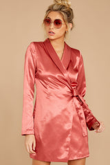 5 Business Babe Coral Blazer Dress at reddressboutique.com