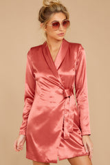 6 Business Babe Coral Blazer Dress at reddressboutique.com