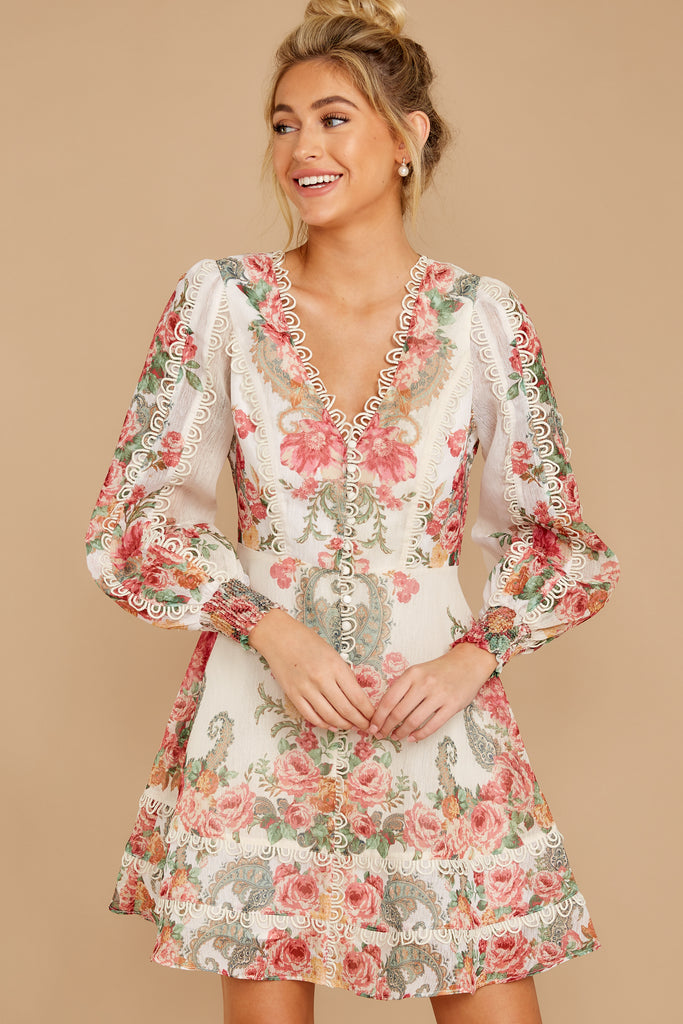 1 Of Romance And Lace Cream Dress at reddress.com