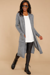 4 Holding Hands Grey Cardigan at reddressboutique.com